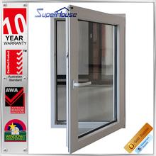 New design heat insulation tilt and turn basement windows