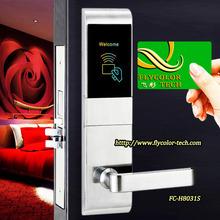 Swipe door lock America mortise electronic hotel card lock