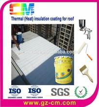 Construcción la construcción de aislamiento térmico de calor pintura material de aislamiento térmico