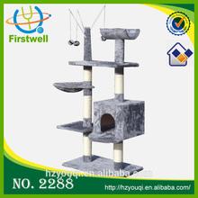 2015 hot selling cat furniture,cat treesisal rope cat tree top sales