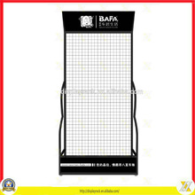 Retail Big Area automobile decoration display racks/floorstanding automobile decoration stands
