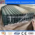 Alta calidad de Zinc o Galvalume hojas ondulantes de techo
