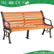low price garden wood outdoor patio benches