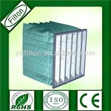 High duct holding capacity Bag Filter For Asphalt Plant pocket filter