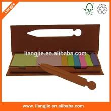 Craft ballpen and case combined sticky notepads ,arrow sticky notes