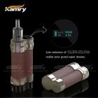 hot sell e cig 18650 full mechanical mod e cig kamry 100 box mod with natual wood material