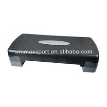 Best quality training gym aerobic step board fitness exercise step platform,durable adjustable aerobic step board