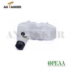 Gasoline 4 stroke brush cutter engine parts GX25 GX35 plastic fuel tank