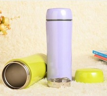 NatureHike 750ml Portable Outdoor Sports Bicycle Cycling Stainless Steel Water Bottle with Removable Straw