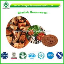 GMP Factory Supply Natural Rhodiola Rosea extract 3% Rosavins