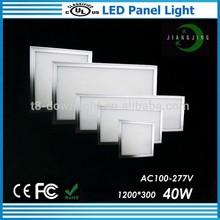 square 1m length Hang Kit led panel light 300 1200 White