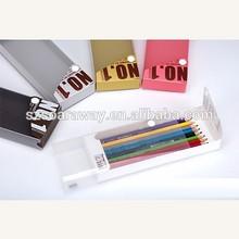 New design clear plastic PP pencil box/case for kids, kids pencil case