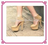 Elegant women diamond platform shoes high heel