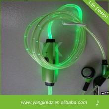 High Quality LED Earphone used mobile phone earphone wholesale dubai