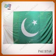 Custom Pakistan national flag in Guangzhou factory