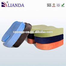 best seller on amazon round shaped seat cushion,satin seat pad,seat