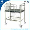 China fornecedor bt-ab106 açoinoxidável hospital camainfantil baby enfermagem camainfantil baby berço berços de ferro