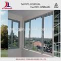 marco de aluminio de ventana corredera de vidrio