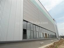 prefab storage metal roof warehouse