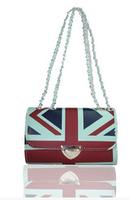 New trend flag print pu hand bag alibaba express funky pretty girls handbags