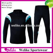 Lastest fashion design tracksuit sports soccer training suit kit pants thai quality orignal chelsea soccer tracksuit 2015