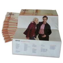 2015 Alibaba cheap & good sale free sample brochure /leaflet designs