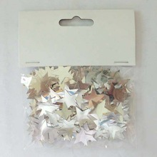 Theme party paper confetti/white star confetti for wedding/Holiday Party Decoration