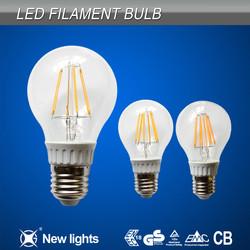 vintage design E27 B22 LED filament bulb light CE ROHS approved