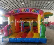 hot sale dinosaur inflatable bouncy castle