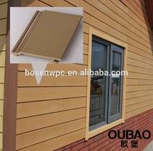 2015 nouveau produit le bâtiment moderne maison bois plastique composite osb panneau de bois prix