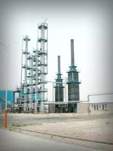 High oil yield and energy renewable waste oil refining plant