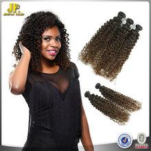 JP Hair 2015 New Arrival Easy To Dye Virgin Dark Brown Peruvian Hair