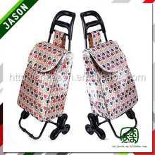 supermarket shopping trolley dot folding trolley bag