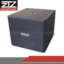 wooden speaker large subwoofer box