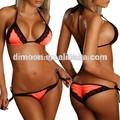 Personnalisé sexy lady rouge dentelle Bikini maillots de bain manufacture