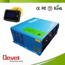 5000W 12 volt 220 volt inverter solar panel inverter 12v 220v inverter with battery charger