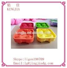 silicone freezer diamond shape silicone ice cube tray