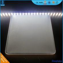 transparent acrylic light guide panel