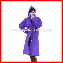 Top level best sell rain coat back pack