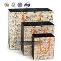 de lujo de diseño personalizado de regalo de papel bolsa de regalo bolsas de muestras gratis
