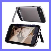 Hard Desk Wallet Cases Card Holder Case For iPhone 6