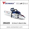 Ferramenta de jardim 45.6cc 2 tempos ZM4620 máquina de segunda mão para corte de árvores
