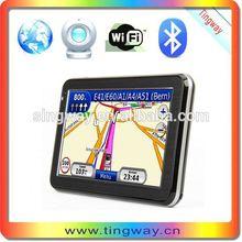 5inch gps navigation mobile phone/ automobile gps navigation