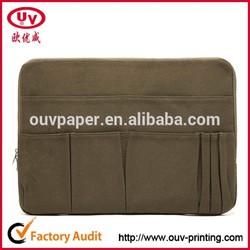 small canvas zipper bag for ipad