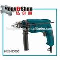 500w venda quente mão broca helicoidal( hes- id008), velocidade variável com 13mm capacidade
