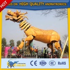 New! 2015 Cetnology display high quality animatronic simulation Chinese dragon