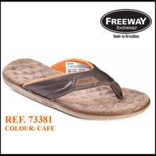 Freeway Brazilian Leather comfort Thong man sandal