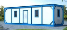low cost 40ft prefab shipping container house for sale/steel container house/container home