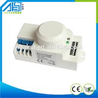 Ceiling mount 5.8GHz PC material 12v motion sensor