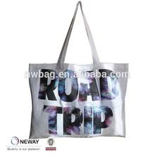 2015 Newway Factory China Custom Canvas Tote/blank canvas shoulder bag/Canvas Tote Shopping